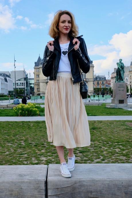 Comment porter une jupe plissée ?
