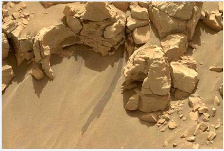 Une fusée spatiale peut s'élever de Mars... rien qu'en perdant de la masse !
