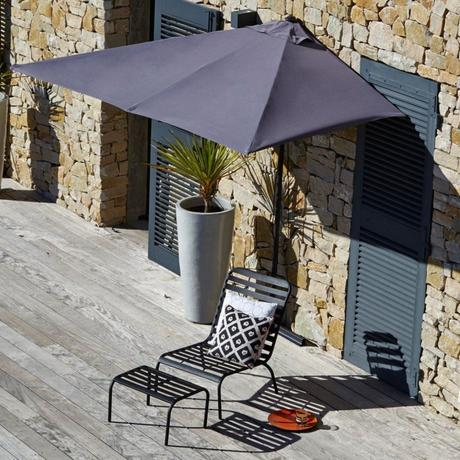 10 parasols designs balcon gris terrasse extérieur - blop déco - clemaroundthecorner