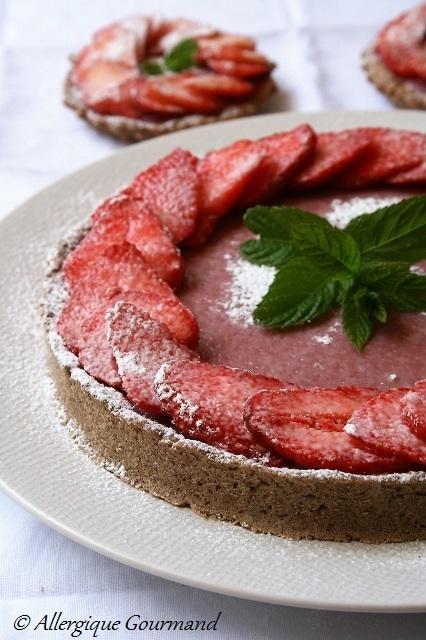 Recettes aux fraises { sans gluten, sans lait, sans œufs}