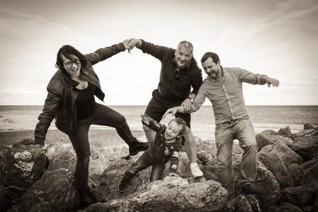 Sandra et sa Famille Photo Famille Frontignan Plage