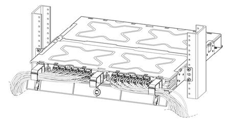 Organisez votre brassage optique avec les racks Belden