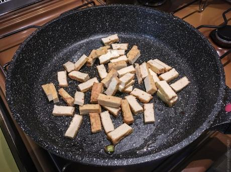 When in Bordeaux… – Nouilles udons sautées