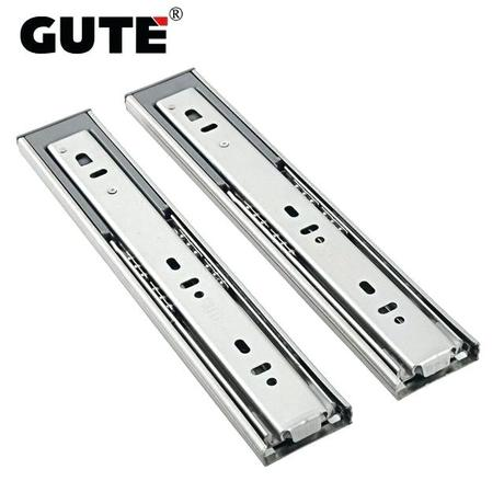 dresser drawer slides drawer guide stainless steel hydraulic three section drawer slide drawer track brushed finish guide rail damping dresser drawer slides replacement