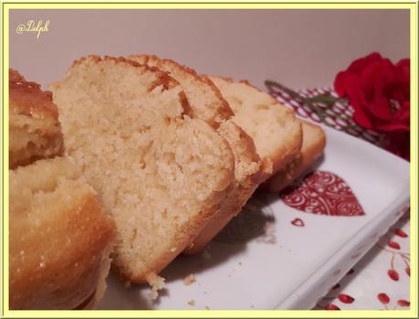 Cake à la fleur d'Oranger Allégé