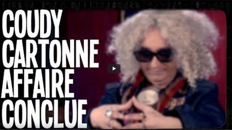 HUMOUR : Coudy parodie «Affaire conclue»