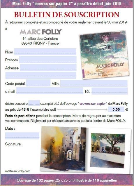 Marc Folly : œuvres sur papier 2