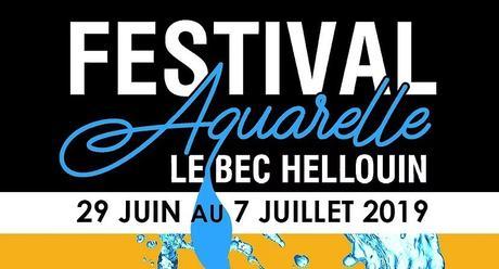 1er Festival d'aquarelle de Bec Hellouin