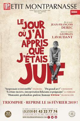 Jean-François Dérec jour j'ai appris j'étais Juif