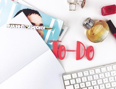 Ma To Do liste 2019 – Des choses à faire