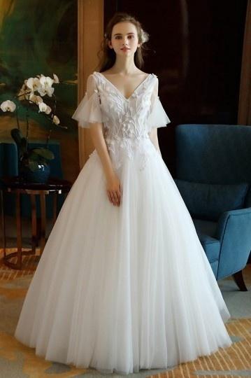 Testez votre robe de mariée