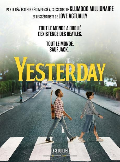 Affiche VF pour Yesterday de Danny Boyle