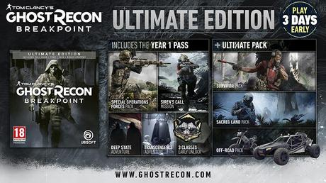 Ghost Recon Breakpoint – Les éditions spéciales et collector