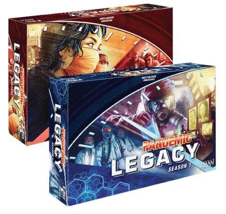 Test de Pandemic Legacy Saison 1 chez Edge Entertainment