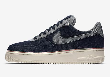 Le dénim s'installe sur la Nike Air Force 1 avec 3*1 NYC
