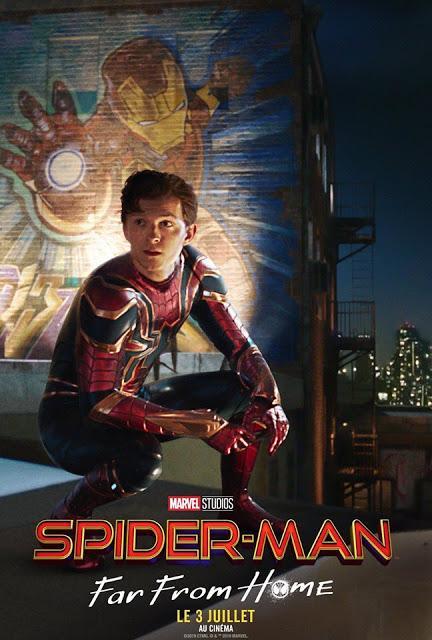 Nouvelle affiche VF pour Spider-Man : Far From Home de Jon Watts