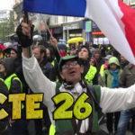 GILETS JAUNES : ACTE 26 de Jussieu à Paris Diderot