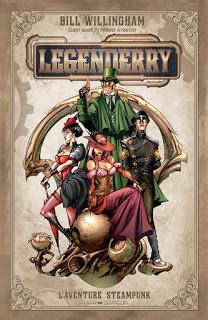 [7BD] LEGENDERRY L'aventure Steampunk aux éditions Graph Zeppelin