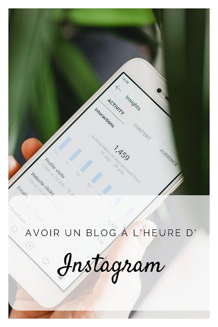 Pourquoi avoir un blog à l'heure d'Instagram ?
