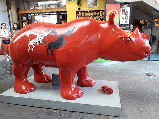 sad rhinos