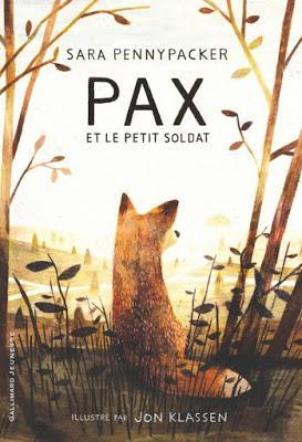 Pax et le petit soldat - Sara Pennypacker