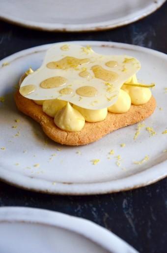 Citron, sablé amandes @Culturefoood 1