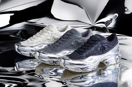 Raf Simons présente 6 Ozweego en chrome pour adidas