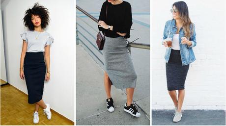 Quelles chaussures porter avec une jupe crayon ?