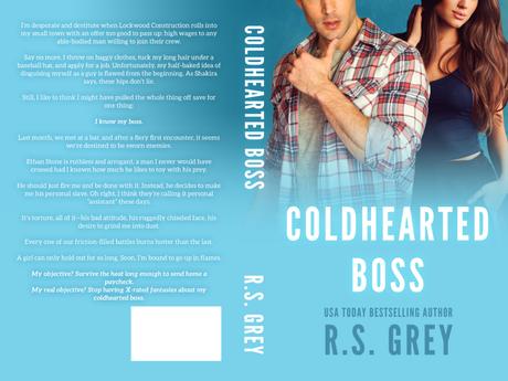 Cover Reveal : Découvrez la couverture et le résumé de Coldhearted Boss , le nouveau roman VO de RS Grey