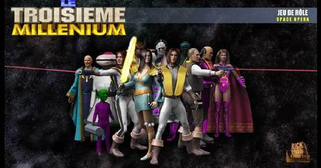 Le Troisième Millénium, jeu de rôle gratuit à télécharger