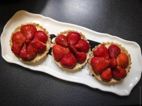 Fruit de saison – Tartelettes aux fraises