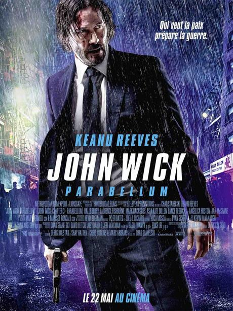 JOHN WICK PARABELLUM (Concours) 1 Bipack Blu-ray + 5 pièces collector à gagner