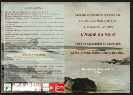 Colloque : l'Appel du Nord – Terre de paysagistes au XIX° siècle