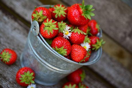 Tarte aux fraises du Périgord et sa chantilly au citron vert