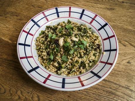 Simple ! – Semoule de couscous au kale