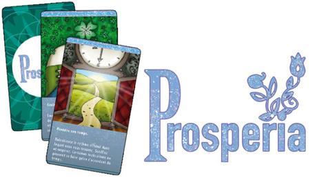 Prosperia, un jeu de tirage de cartes
