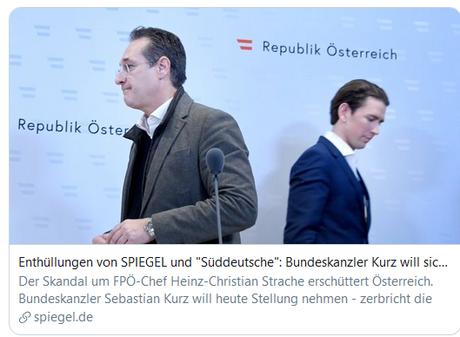 Encore un facho pris la main dans le pot de confiture russe… #Strache #Fpö