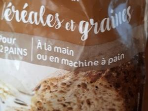 Pains serviettes aux graines