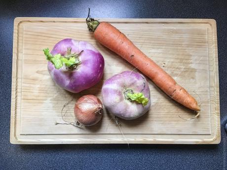 Braisé parfumé – Vegetable Korma (Korma de navets)