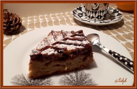 Gâteau au Yaourt Orange et Chocolat