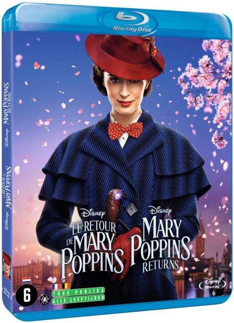 Critique Bluray: Le Retour de Mary Poppins