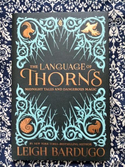 Le livre du lundi : The Language of Thorns