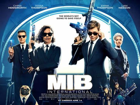 Nouvelle affiche UK pour Men in Black International de F. Gary Gray