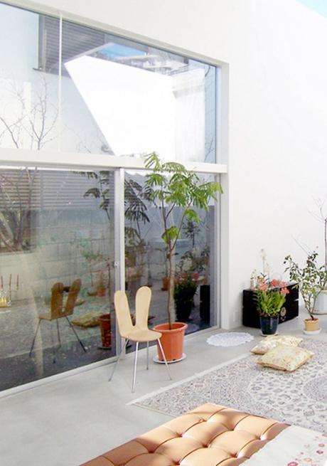 house a de ryue nishizawa balcon terrasse outdoor jardin - blog déco - clem around the corner