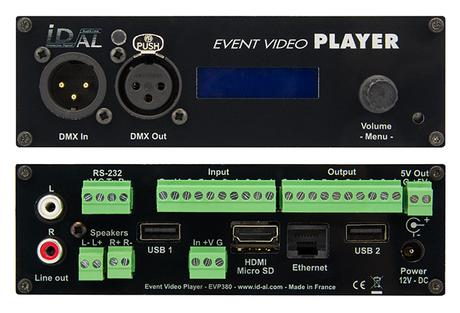 ID-AL Event Video Player EVP380 : un lecteur de show control qui sait tout faire