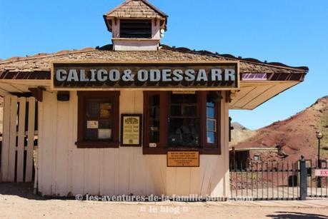 Calico, CA, une ville fantôme à ciel ouvert