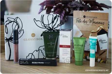 Glossybox spéciale Fête des Mères #editionlimitee