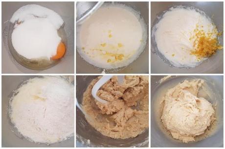 Crinkles au citron coeur de lemon curd