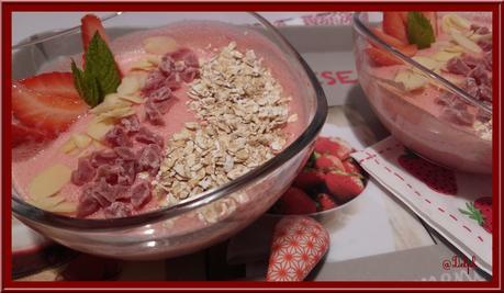 Mousse de Fraises légère et son Topping Gourmand