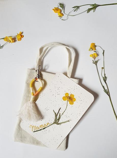 [DIY] Une carte et un porte-clé pour la fête des mères